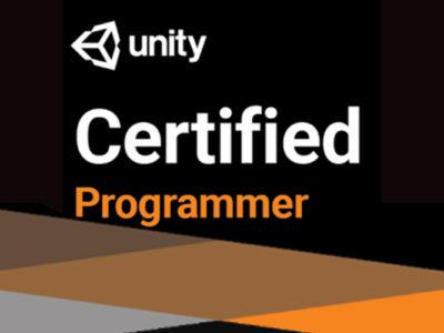 Unity Certified Programmer