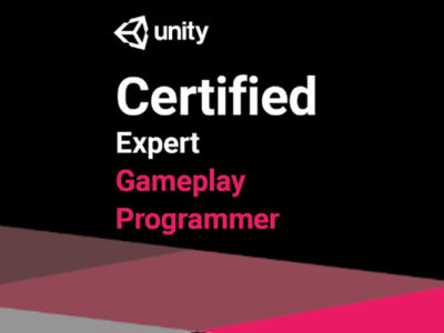 Unity Certified Expert Game Play Programmer